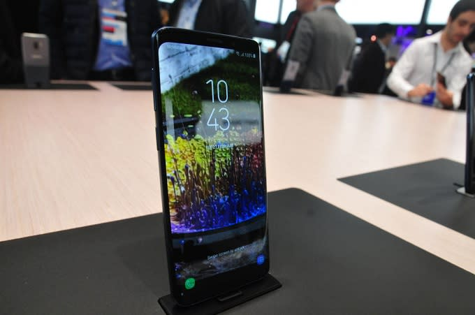 62d5422107 Samsung Galaxy S9 Can Still Crack With a Single Drop