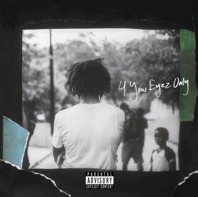 J Cole 4 Your Eyez Only cover art
