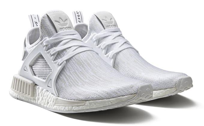 7e7362cd5 Triple White Adidas NMD XR1