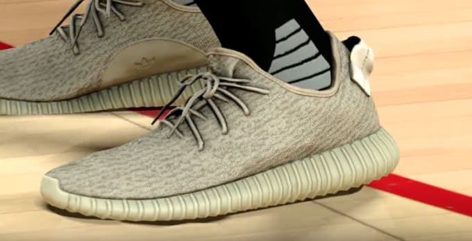 9c55389a2dcf98 adidas Yeezy 350 Boost in NBA 2K17