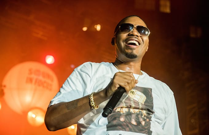 Nas performs during KCRW and The Annenberg Foundation's concert series
