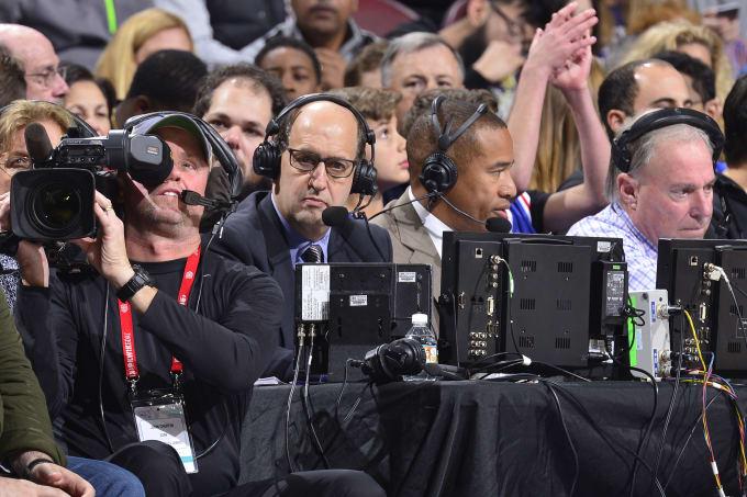 Jeff Van Gundy ESPN 2016 Sixers Lakers