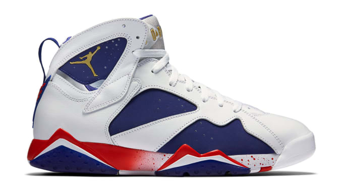 best loved 7557d 956b9 Air Jordan 7 Retro Tinker Alternate Olympic. Image via Nike