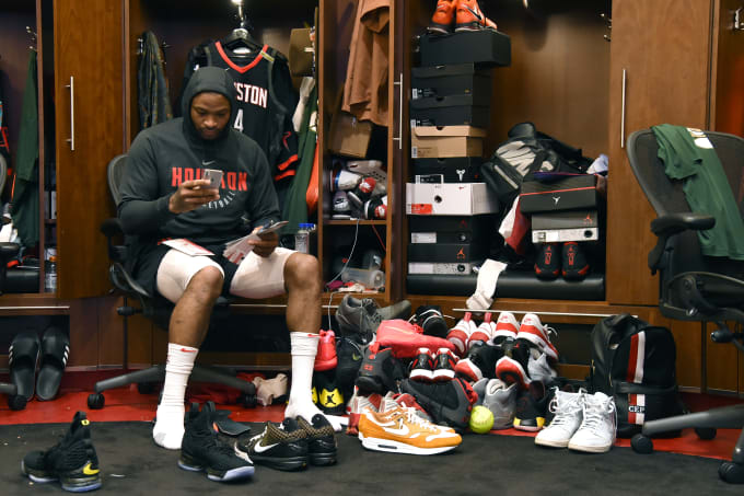 de52c17e18da P.J. Tucker Spent  200K on Sneakers This Past Season. Matt Welty