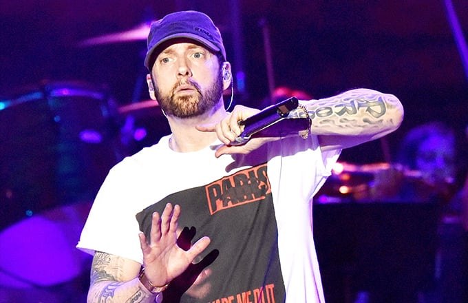 4a8cf96816a7e Eminem Launches  Slim Shady LP  20th Anniversary Capsule Collection ...