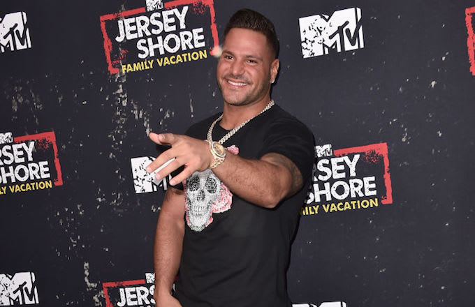 Ronnie Jersey Shore