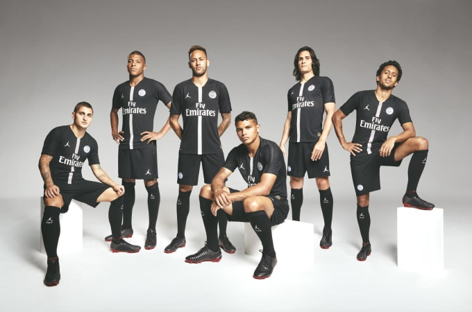 ff9acc343c7 Jordan Brand and Paris Saint-Germain Unveil a Groundbreaking Debut ...