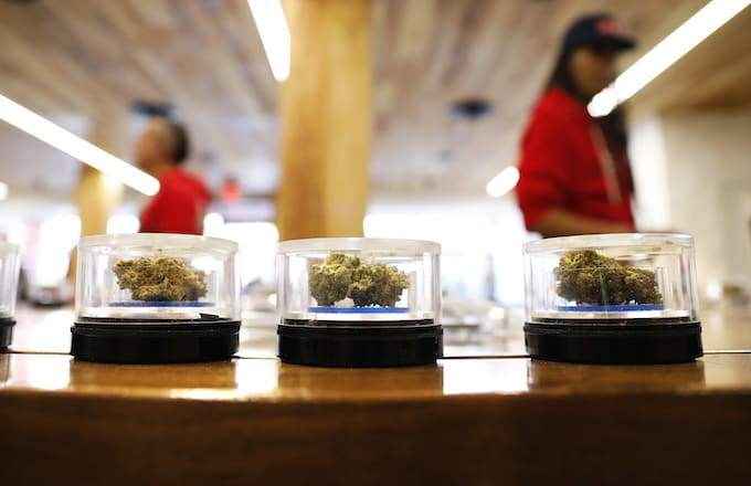 Recreational marijuana in California.