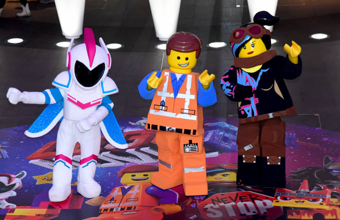 Lego characters General Mayhem, Emmet and Lucy join the The Lego Movie 2