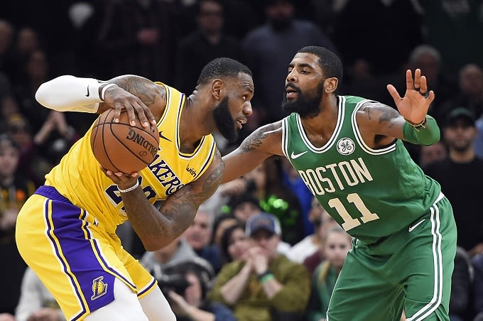 85e23ac03a49 Kyrie Irving Reportedly Considering Move to Lakers