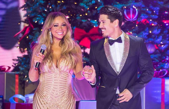 A photo of Mariah Carey.