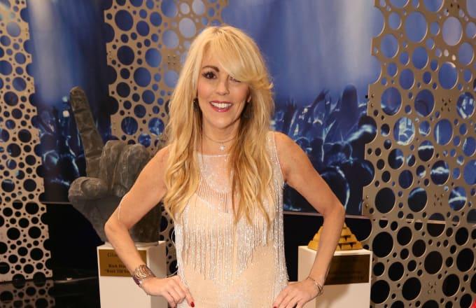 Big Brother:Celebrity Edition -- Dina Lohan celebrates the Season 2 Finale