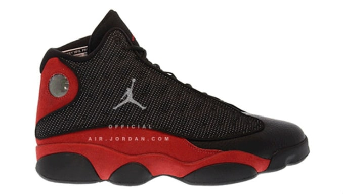 Air Jordan 13 Bred Release Profile 414571-004