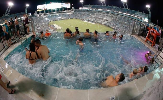 Q Auto Jacksonville >> Everbank Field Swimming Pool Lifeguard - odd jobs in sports   Complex