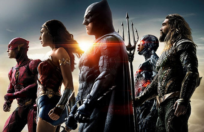 A promo pic for 'Justice League.'