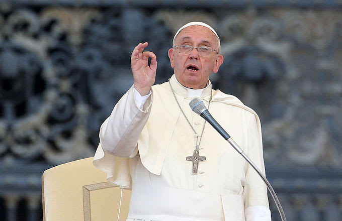 Pope Francis in 2015