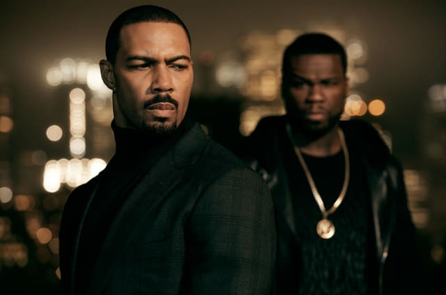 Omari Hardwick and 50 Cent