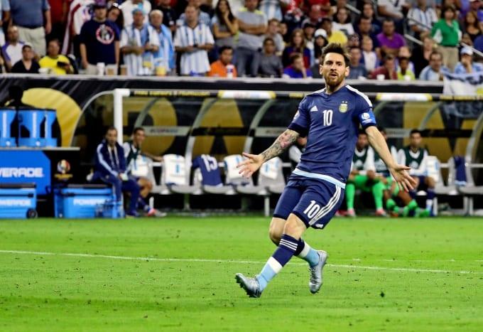 Messi Argentina Copa Semifinals 2016