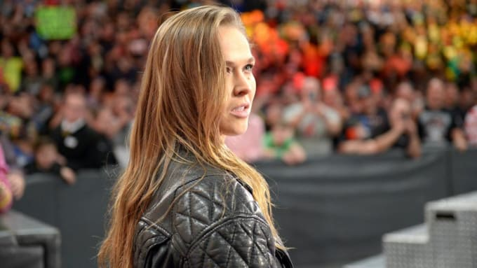 Ronda Rousey 2018 Cover Photo for gif story.