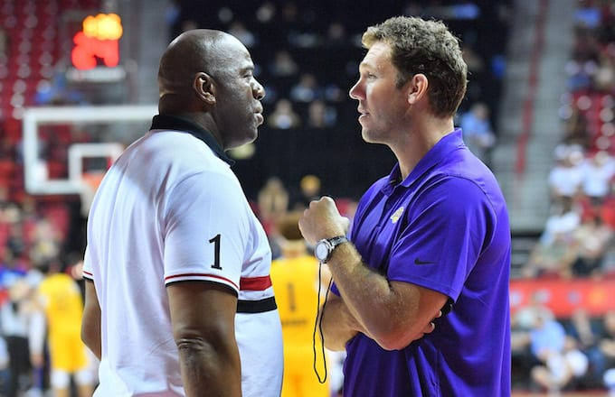 Magic Johnson, Luke Walton