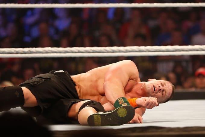 John Cena SummerSlam 2015 WWE Getty