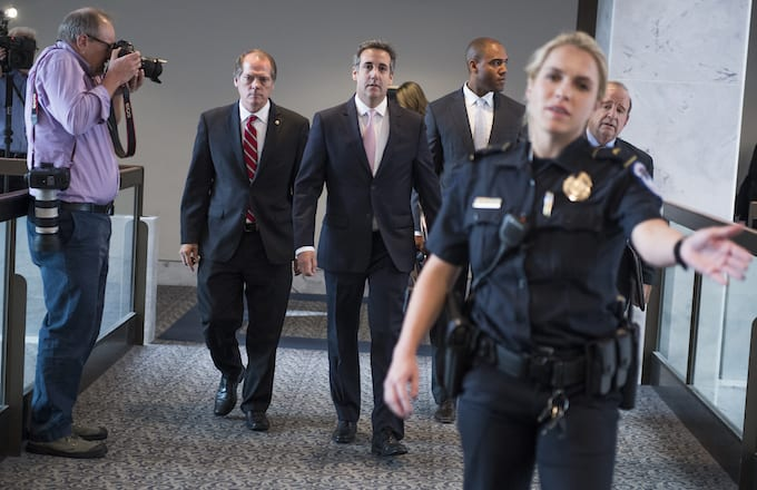 Michael Cohen Office Raided