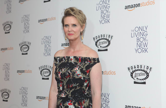 Cynthia Nixon in New York