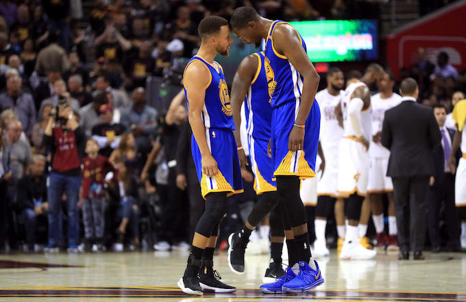 e5ade8c126f7 Kevin Durant joined the Warriors to slow down Under Armour. Steph Curry ...
