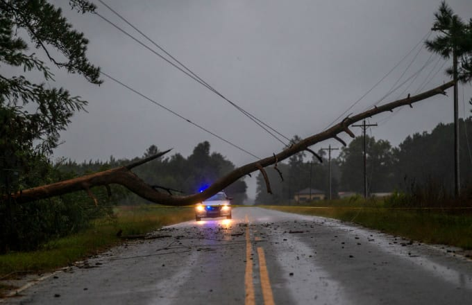 North Carolina Tropical Storm Florence