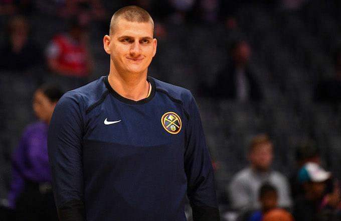 Denver Nuggets Center Nikola Jokic.