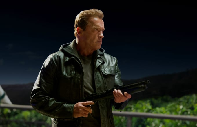 Arnold Schwarzenegger in another damn 'Terminator' movie