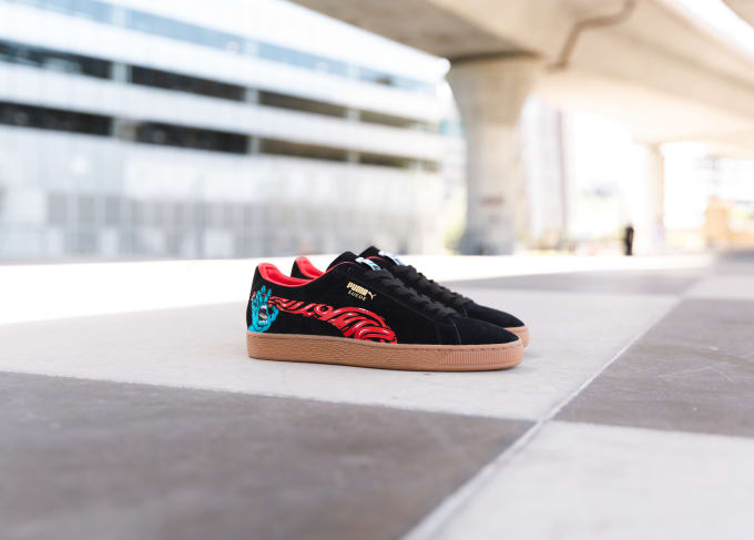 PUMA and Legendary Skate Brand Santa Cruz Connect on the Latest Epic Suede  50 Collab f0d205313