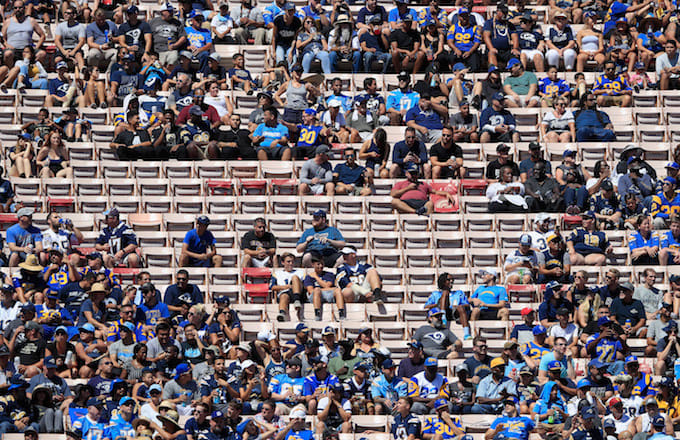 Los Angeles Chargers fans