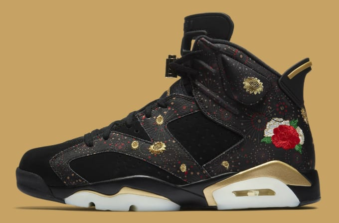 Air Jordan 6 VI Chinese New Year Release Date AA2492-021 Profile