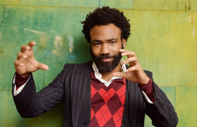 Donald Glover attends FX Networks celebration.