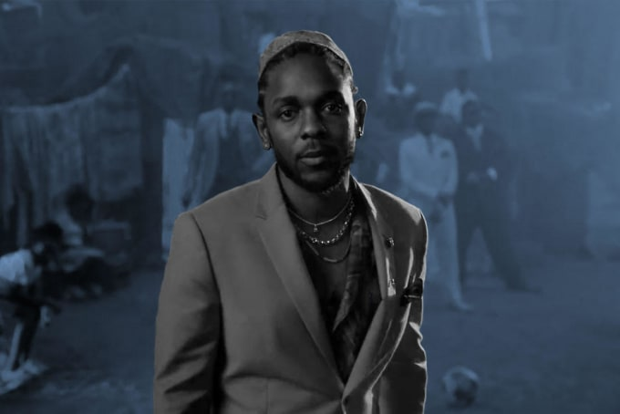 the undeniable confidence and charisma of kendrick lamar is black
