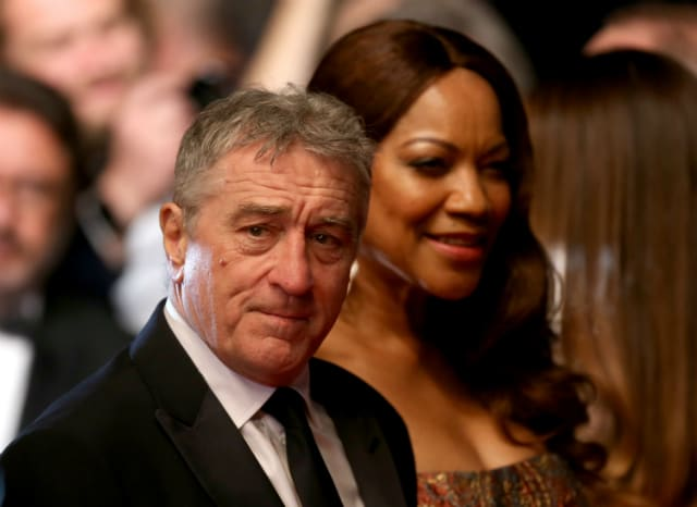 Image result for De niro with wife