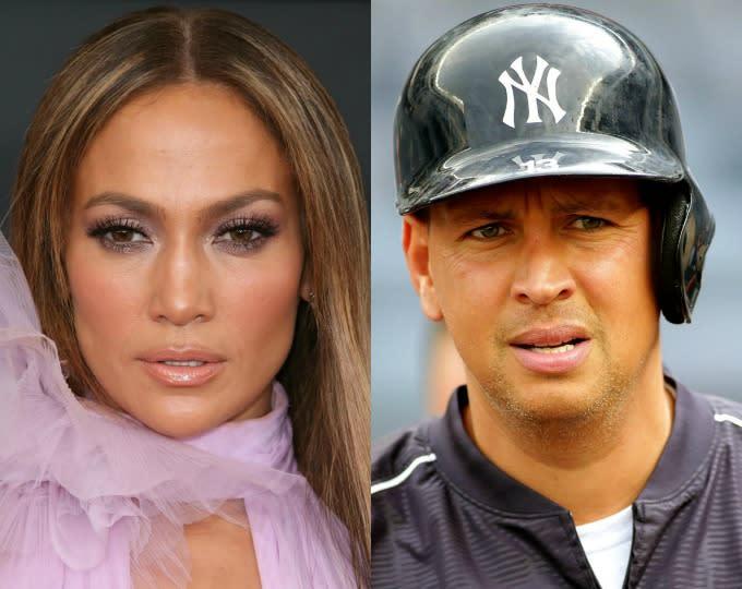 Jennifer Lopez and Alex Rodriguez Are Reportedly Dating ... Jennifer Lopez And Alex Rodriguez