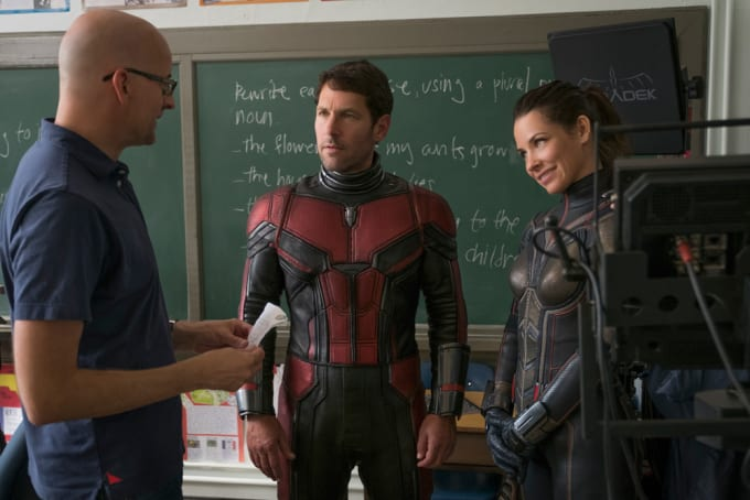 Behind the scenes of 'Ant-Man and the Wasp'