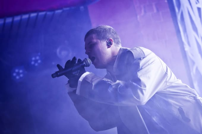 Yung Lean performs