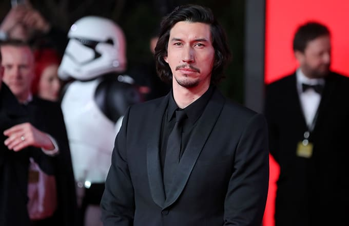 This is a photo of Adam Driver.
