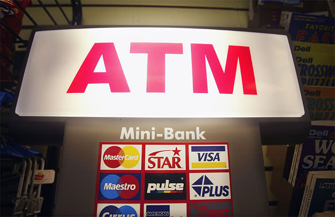 This is a photo of ATM.