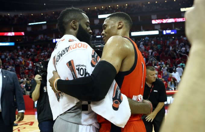 6f17d5992e8 Harden vs. Westbrook  Who Has Been Better In Head-To-Head Matchups ...
