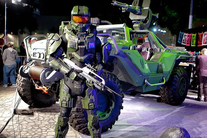 Halo's Master Chief IRL