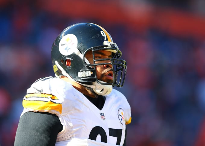 Cameron Heyward Ironhead 2016 Playoffs