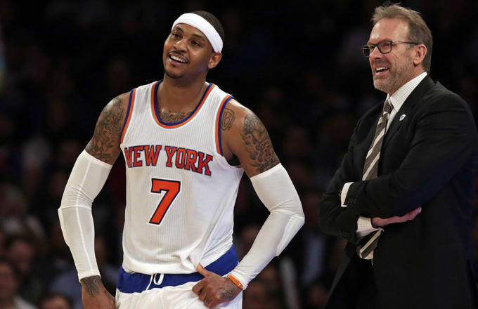 Carmelo Anthony May Be Willing to Waive No-Trade Clause If Knicks Don't Right the Ship This Summer