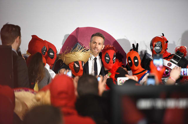 Ryan Reynolds at 'Deadpool' fan event