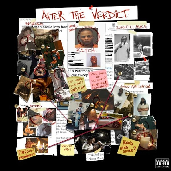 RetcH's artwork for 'After the Verdict.'