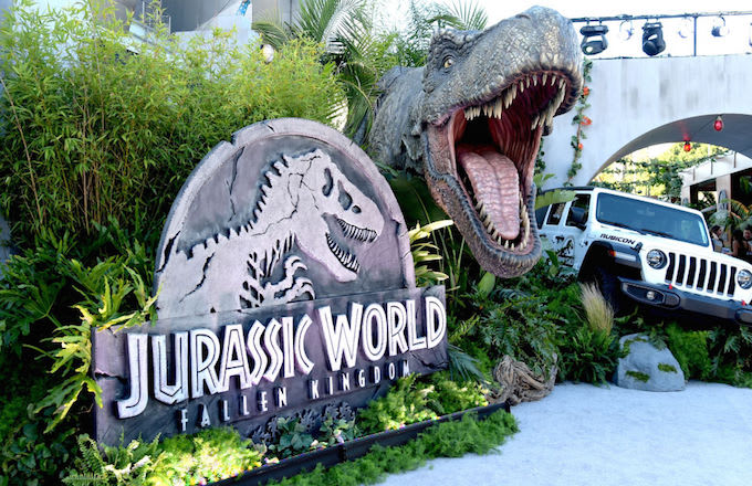 Jurassic World debut numbers