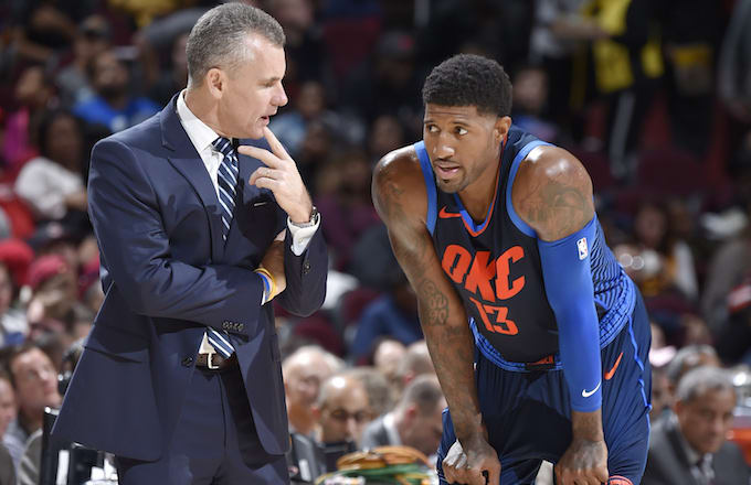 Billy Donovan, Paul George